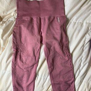 Gymshark energy seamless crop leggings